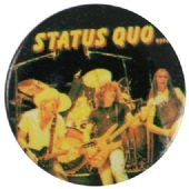 Status Quo - 'On Stage' Button Badge